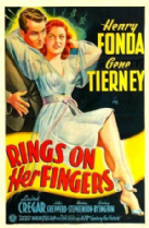 Rings on Her Fingers 1942 DVD - Henry Fonda / Gene Tierney